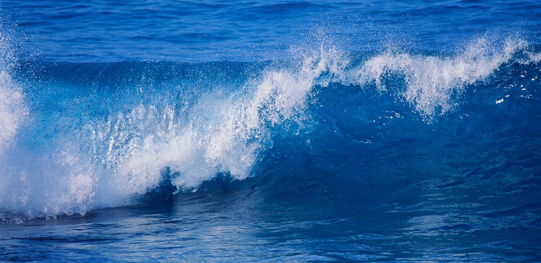 Wer nur aufs Wasser blickt, kennt nicht das Meer.